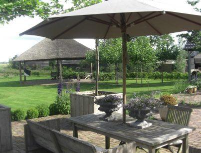 Landelijke tuin Stolwijk